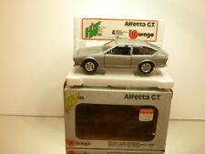 BBURAGO 0136 ALFA ROMEO ALFETTA GT - GREY METALLIC 1:24 - VERY GOOD IN BOX