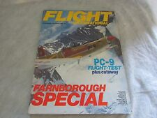 **LOOK** FLIGHT INTERNATIONAL Magazine FARNBOROUGH Airshow Special 1984 Free P+P