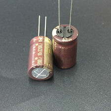5pcs 2200uF 10V Japan ELNA RJH 12.5X20mm 12V2200uF Low Impedance Audio Capacitor