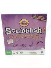 Cranium Scribblish! Board Game Hasbro Family Game FRENCH