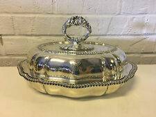 Vintage Tiffany & Co. Silver Soldered Plated Silver Covered Vegetable Dish