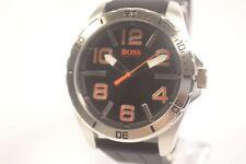 Hugo Boss 1512943 Berlin Black Dial Men's Leather Watch