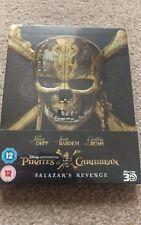 Pirates of the Caribbean Salazars Revenge Dead Men Tell No Tale Bluray Steelbook