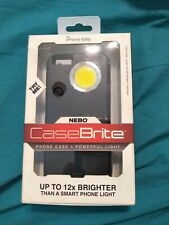 Case Brite by NEBO Phone case and powerful flash light. iPhone 6/6S