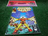 vtg invincible Iron Man 273 Marvel Comic book 1st print hi res pics
