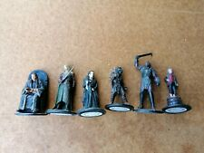 EAGLEMOSS - LORD OF THE RINGS COLLECTORS FIGURES X6