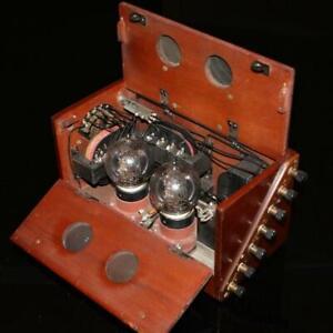 Western Electric 'Weconomy' 2 Valve Amplifier Speaker c1923