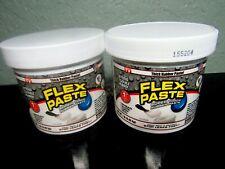 2 Flex Seal Paste White Rubber Paste 1 Lb Jars