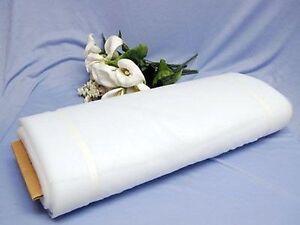 "54"" x 40 Yards Bolt Tulle Bridal Quality 100% Nylon 25 Colors Wedding Draping"