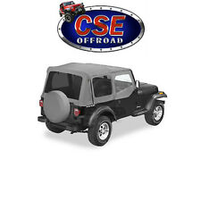 51123-09 Bestop Gray Replace-A-Top With Tinted Windows Jeep Wrangler YJ 1988-95