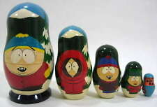 Russian Handpainted Nesting Doll South Park 5pc Kenny