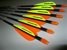 ( 6 ) Easton 400 Aftermath Carbon Arrows 220785/Tf