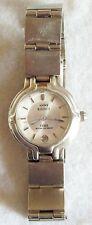 Lovely Ladies Anne Klein 2 Silver Tone 100 Resist Silver Tone Medium Size Watch