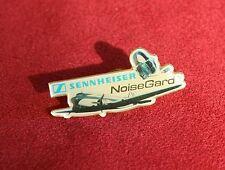 Pin SENNHEISER NoiseGard®, 1990er - Kopfhörer Flugzeug Pilot - unbenutzt