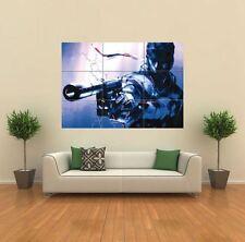 METAL GEAR SOLID 2 PS3 XBOX 360 NUOVO GIGANTE ART PRINT POSTER QUADRO muro g023