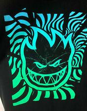 Spitfire - Skateboard Wheels Brand T-Shirt - Black - Extra Large - 100% cotton