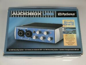 PreSonus Audiobox USB 2x2 Recording Interface