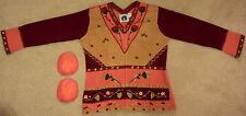 "Storybook Knits Cardigan Sweater ""Folk Art Fairisle"" - BRAND NEW"