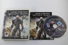 PLAY STATION 3 PS3 QUAKE WARS COMPLETO PAL ESPAÑA