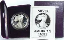 1990 S Proof Silver American Eagle Dollar US Mint $1 ASE Coin