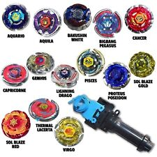 Beyblade Light Package Comes w/ 4 Random Beyblades w/ String Grip Launcher