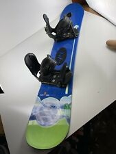 K2 SpitFire Snowboard 150 cm Lamar Bindings Excellent Shape