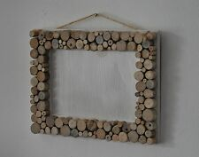 "Driftwood Picture/Photo Frame 4""x6"" & 5""x7"" Natural Home Decor Landscape"