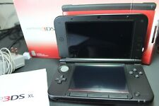 Nintendo 3DS XL Launch Edition Handheld Red Gaming System