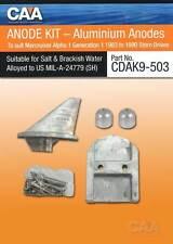 Mercury Mercruiser Anode Kit Alpha I. Aluminium Anodes -NEW-