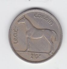 1959 Irish Ireland half-crown Eire Leat Coroin 2'6 Coin Horse D-191