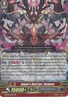 CARDFIGHT VANGUARD CARD: AMON'S RED EYE, FORNEUS - G-BT11/021EN RR