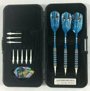 Quicksilver Darts 18 gm Soft Tip Dart Set Lots of extras w/ case
