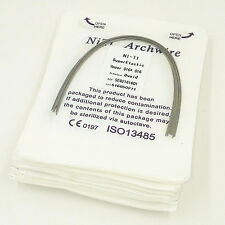 20Packs Dental Orthodontic Super Elastic Niti Rectangular Arch Wires HOT SALE