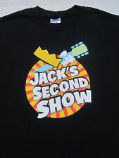 Jack'S 2Nd Show 2007 concert Large T-Shirt zz top Stevie Nicks pretenders