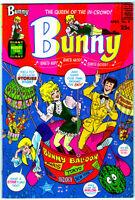 BUNNY #8 in NEAR MINT a Harvey Silver Age comic - File Copy! Never read!