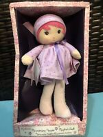 """Exquisite Detail Small Soft Doll """"Jade"""" by French Toy Maker /""""Kaloo/"""" 9 mo.+"""