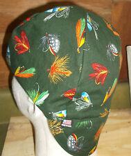 Fly Fishing Lures Handmade 100% cotton, Welding, Biker, pipefitter,4 panel hat