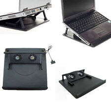 2 Fan USB Port Cooling Cooler Pad for 14' 15.6' 17' Inch Laptops Notebook New