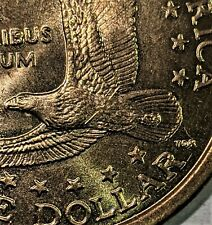 2000 P SACAGAWEA $1 (ONE) DOLLAR COIN WOUNDED EAGLE