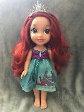 "My First Disney Princess Doll Toddler Ariel Doll 14"" Royal Reflection Eyes"