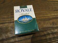 ancien paquet de cigarettes ROYALE MENTHOL pour collection uniquement