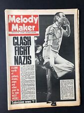 Melody Maker Magazine April, 1978 Clash Genesis Tubes Costello Complete