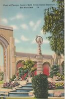 *(S)  1939 Golden Gate International Exposition - Court of Flowers