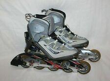 Womens Size 8.5 Rollerblade Performance Race Aero 10W Eu 40 Gray 5 Wheels Profes