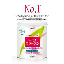 [MEIJI] Amino Collagen Drinkable Powder Beauty Supplement 28 Days Can JAPAN