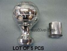 Antique Brass Globe Handle For Wood Walking Stick Nautical Designer Lot Of 5 Pcs