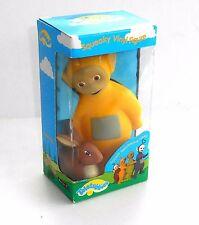 Ragdoll Productions 1996-la Teletubbies Laa Laa Squeaky juguete de vinilo - - En Caja