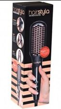 Brand New HairStyla Ceramic Heated Straightening Brush-HSS200/Hair Straightener