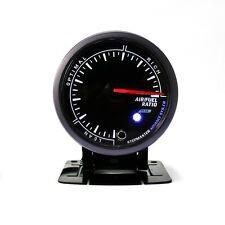 "2.5"" 60mm Air Fuel Ratio Gauge Black Face Pointer Display Universal Car Meter"