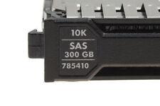 "300 GB HP 2,5"" SAS Festplatte @10k // 785410 für HP Proliant Gen8, G9 Server"